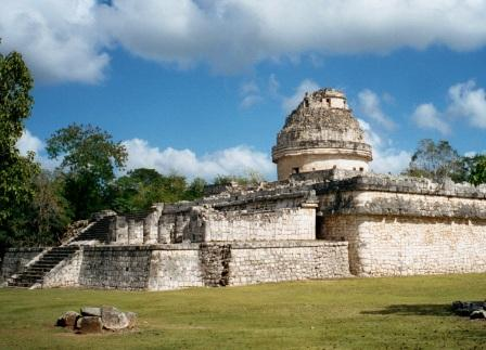 Chichen Itza archeological zone observatory