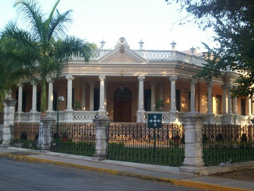 Merida antique building